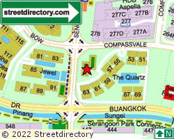 THE QUARTZ | Location & Map