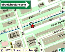 BLK 3027, Ubi Road 1 | Location & Map