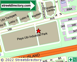 PAYA UBI INDUSTRIAL PARK | Location & Map