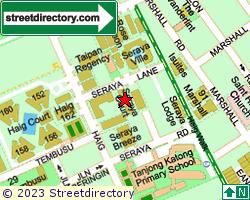 SERAYA COURT | Location & Map