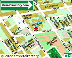 LEGENDA AT JOO CHIAT | Location & Map