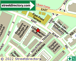 ENTREPRENEUR BUSINESS CENTRE | Location & Map