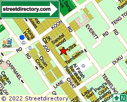 SANDALWOOD | Location & Map