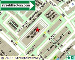 KAKI BUKIT INDUSTRIAL PARK | Location & Map