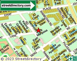 THE GERANIUM | Location & Map