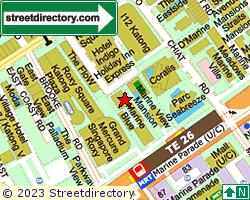 MARINE BLUE | Location & Map