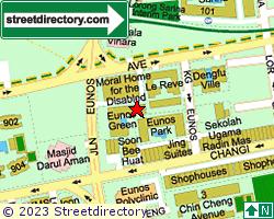 EUNOS GREEN | Location & Map