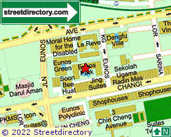 EUNOS PARK | Location & Map