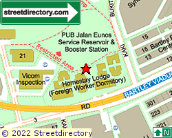 5 STAR DORMITORY | Location & Map