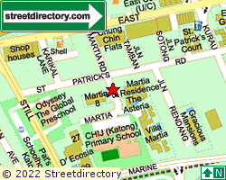 MARTIA COURT | Location & Map