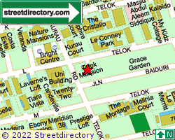 TELOK MANSION | Location & Map