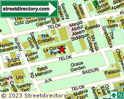 LE CONNEY PARK | Location & Map
