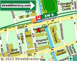 KEMBANGAN PLAZA | Location & Map