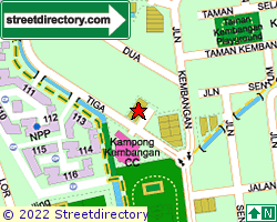 KEMBANGAN VILLAS | Location & Map