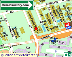 ST PATRICK'S ROW | Location & Map