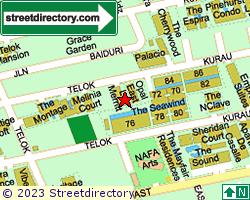 LE MERRITT | Location & Map
