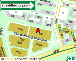 TECHNOPARK @ CHAI CHEE | Location & Map