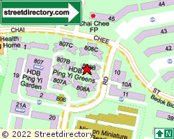 BLK 808B, Chai Chee Road | Location & Map