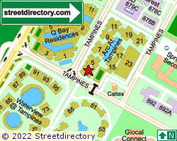ARC AT TAMPINES | Location & Map
