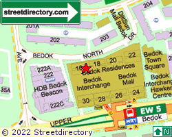BEDOK RESIDENCES | Location & Map