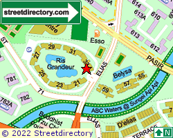 PASIR RIS GARDEN | Location & Map