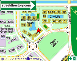 THE TAMPINES TRILLIANT | Location & Map