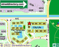 CITYLIFE@TAMPINES | Location & Map