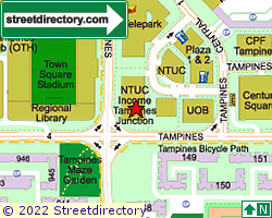 TAMPINES JUNCTION | Location & Map