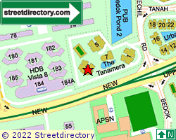 THE TANAMERA | Location & Map