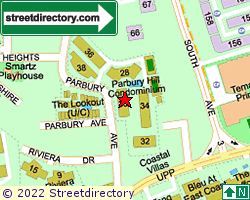 PARBURY HILL CONDOMINIUM | Location & Map