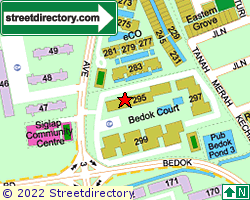 BEDOK COURT | Location & Map