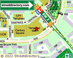 TAMPINES MALL | Location & Map