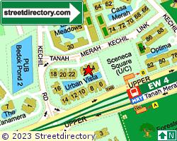 URBAN VISTA | Location & Map