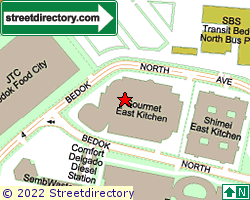GOURMET EAST KITCHEN | Location & Map