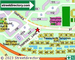TREASURE AT TAMPINES | Location & Map