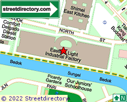 EASTLINK | Location & Map