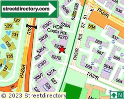 BLK 527C, Pasir Ris Street 51 | Location & Map