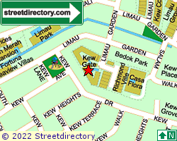 KEW GATE | Location & Map