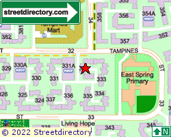 Blk 332, Tampines Street 32 | Location & Map