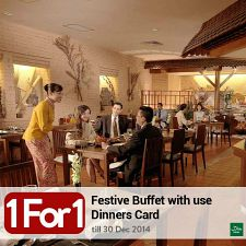 1-for-1 on Festive Buffets