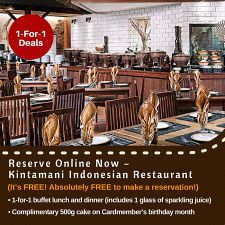 1 For 1 Buffet Lunch And Dinner!