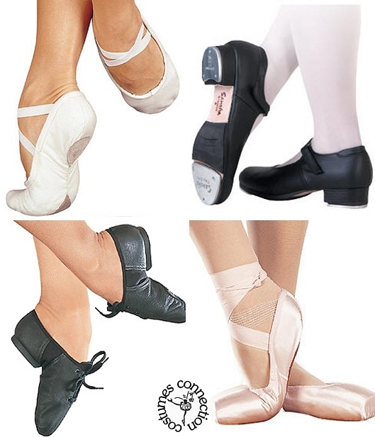 Dance Shoes (Ballet, Tap, Jazz)