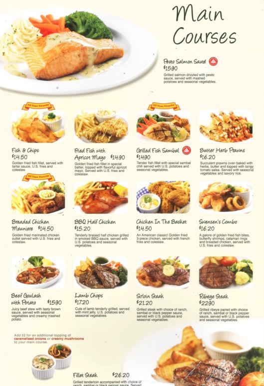 Swensen S Singapore Product Amp Services Online Catalogue