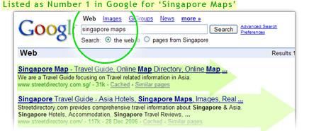 Google Singapore Maps