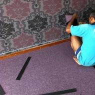 Carpet work