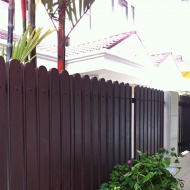Chengal Wood gate, fence & other wood work