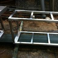 Fish tank rack stand & rack