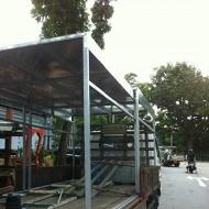 Lorry canopy