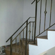 Mild steel & wrought iron railing