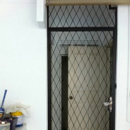 Mild steel gate & grill